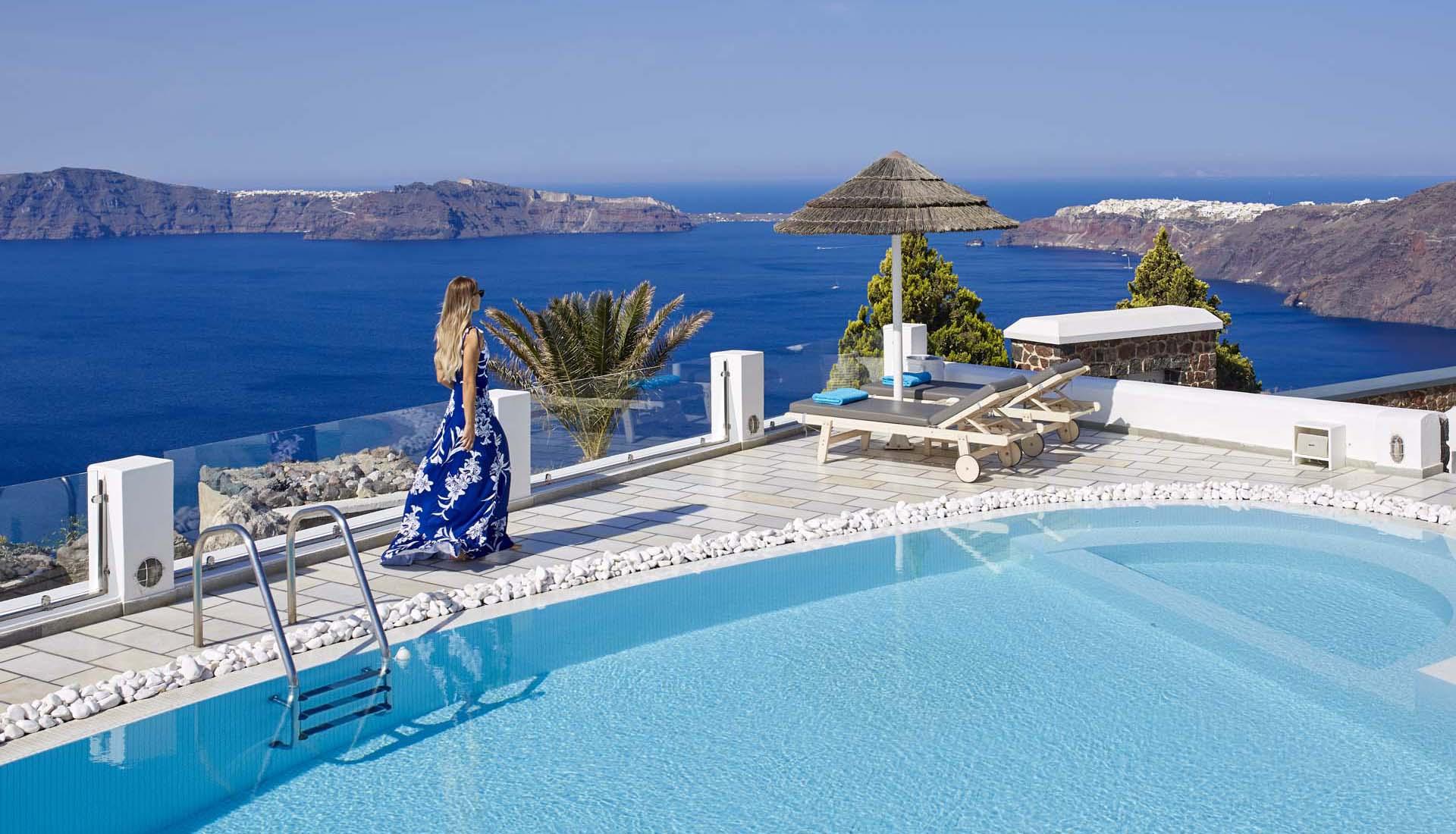 Santorini Island Hotel Santorini Princess Hotel In Imerovigli