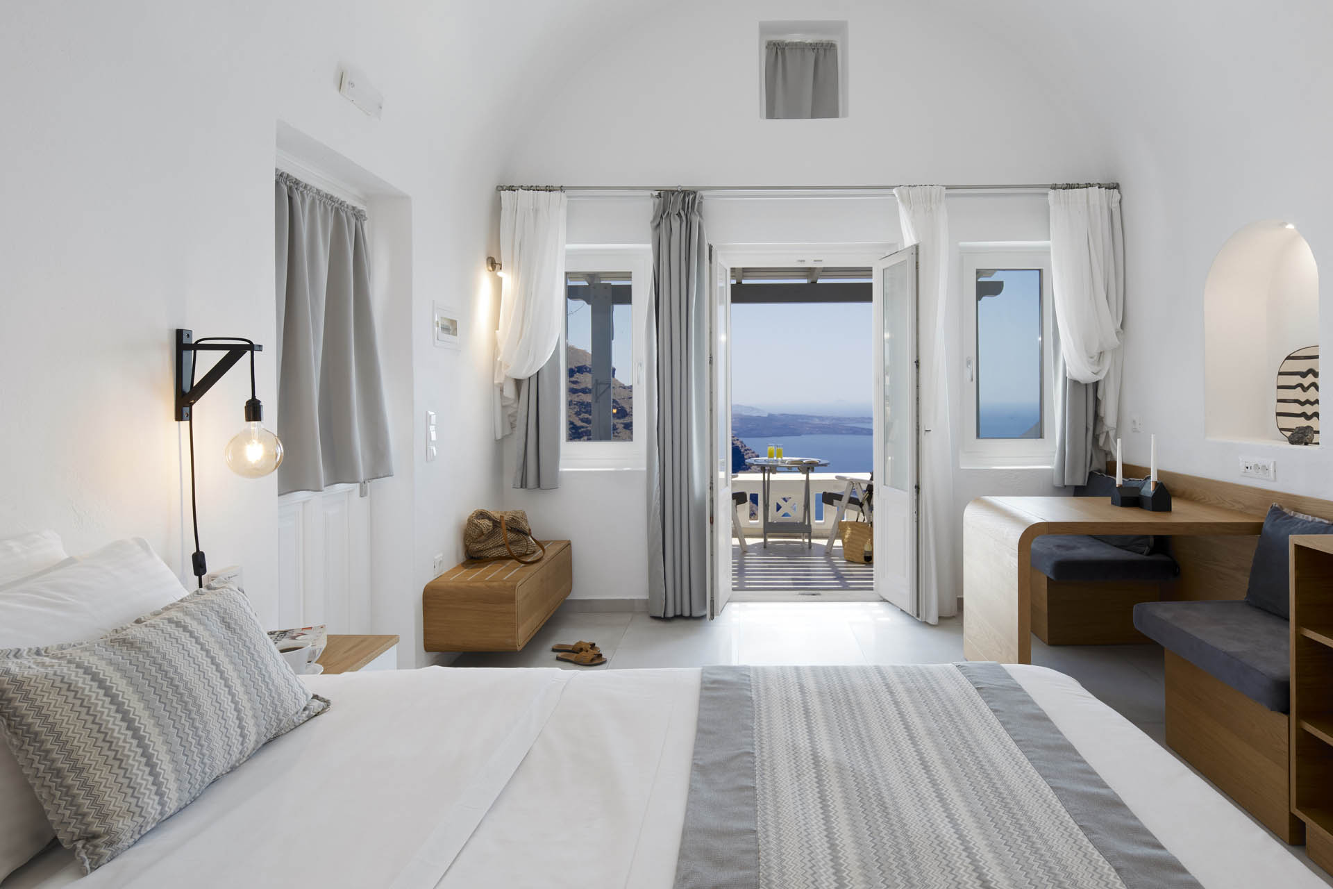 Double Room With Caldera View Santorini Princess Luxury