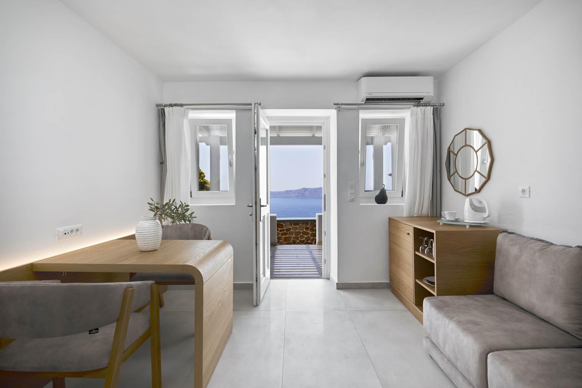 Double Room With Caldera View Santorini Princess Luxury